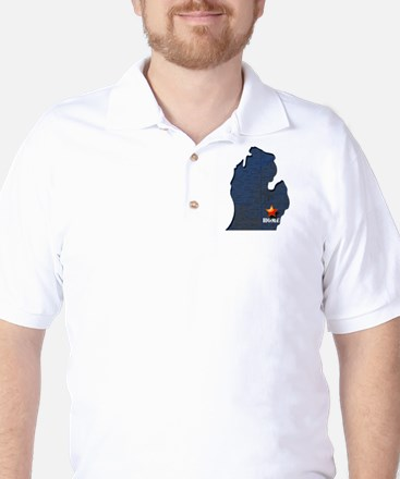 Michigan Is Home Golf Shirt