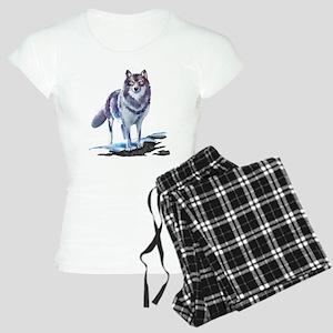 Wolf Women's Light Pajamas