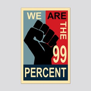Occupy Poster Mini Poster Print