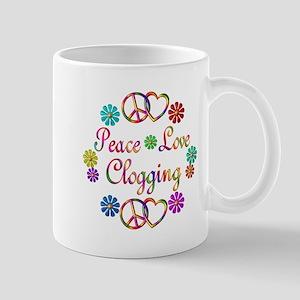 Peace Love Clogging Mug