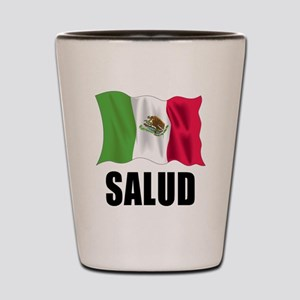 Salud Mexican Shot Glass