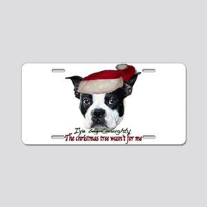 Naughty Dog Aluminum License Plate