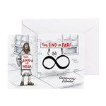 End is Far Greeting Card