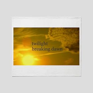 Twilight Breaking Dawn Sun Throw Blanket