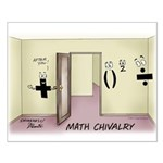Math Chivalry Small Poster