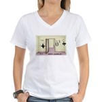 Math Chivalry Women's V-Neck T-Shirt