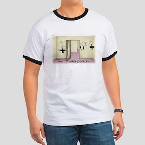 Math Chivalry Ringer T