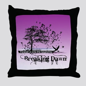 Must Have Breaking Dawn #9 by Twibaby Throw Pillow