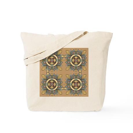 Medieval Tile (sand) Tote Bag