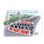 Equal Rights Postcards (Package of 8)