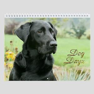 Dog Dayz 2012 Wall Calendar