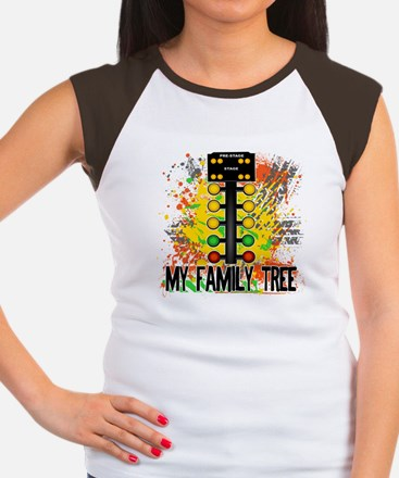 My Family Tree Women's Cap Sleeve T-Shirt