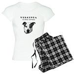 Virginia Is For Lovers Women's Light Pajamas