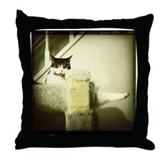 Calli ballet Throw Pillow
