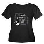 Grandparents-to-Be 2012 Women's Plus Size Scoop Ne