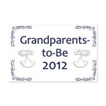 Grandparents-to-Be 2012 Mini Poster Print