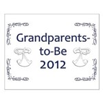 Grandparents-to-Be 2012 Small Poster