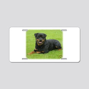 Rottweiler 9W025D-046 Aluminum License Plate