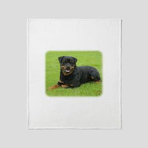 Rottweiler 9W025D-046 Throw Blanket