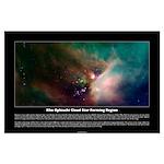 Rho Ophiuchi Cloud Star Forming Region Poster