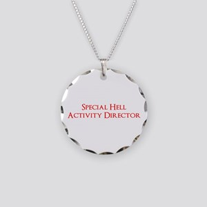 Special Hell Activity Director Necklace Circle Cha