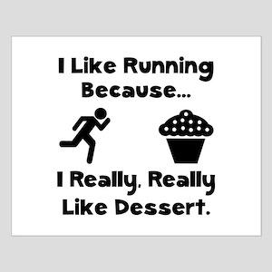 Running Dessert Small Poster