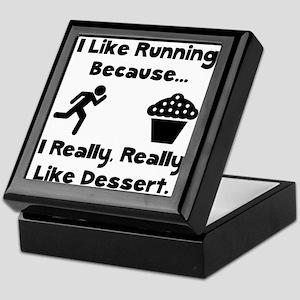 Running Dessert Keepsake Box
