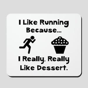 Running Dessert Mousepad
