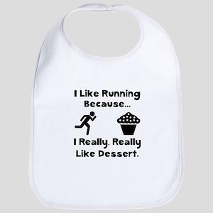 Running Dessert Bib