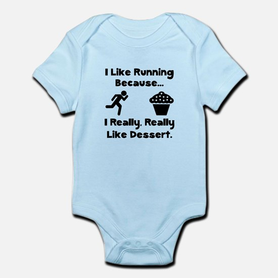 Running Dessert Infant Bodysuit
