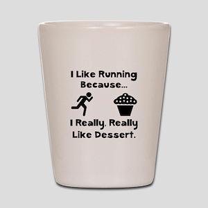 Running Dessert Shot Glass