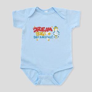 Dream Big Dream Space Infant Bodysuit
