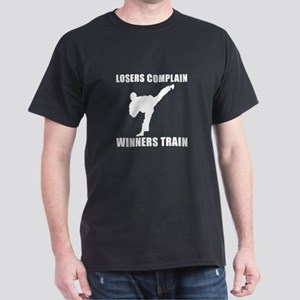 Martial Arts Winners Train Dark T-Shirt