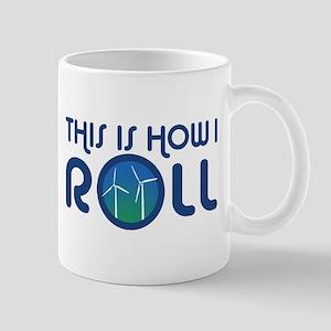 This Is How I Roll Turbines Mug
