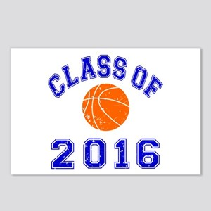 Class Of 2016 Basketball Postcards (Package of 8)
