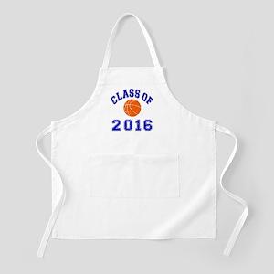 Class Of 2016 Basketball Apron