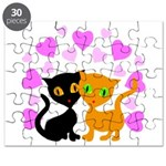 Kitty Cat Love Puzzle