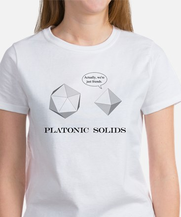 Platonic Solids Women's T-Shirt