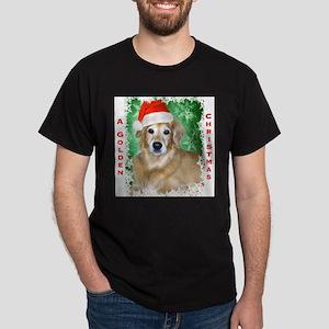 Golden Christmas Dark T-Shirt