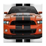 New Mustang GT Tile Coaster