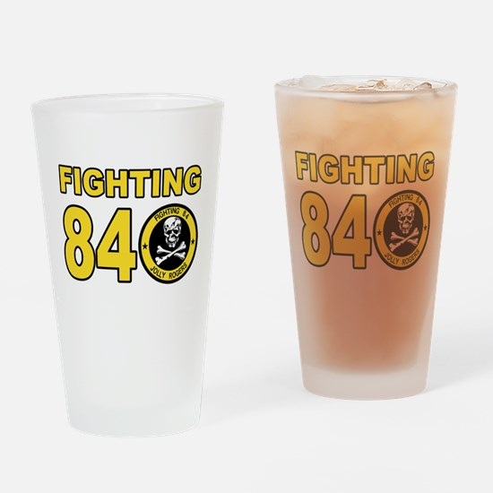 VF-84 Jolly Rogers Drinking Glass