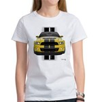 New Mustang GT Yellow Women's T-Shirt