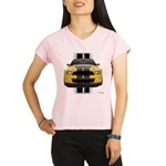 New Mustang GT Yellow Performance Dry T-Shirt