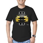 New Mustang GT Yellow Men's Fitted T-Shirt (dark)