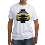 New Mustang GT Yellow Fitted T-Shirt