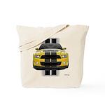 New Mustang GT Yellow Tote Bag