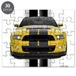 New Mustang GT Yellow Puzzle