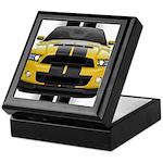 New Mustang GT Yellow Keepsake Box