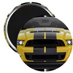 New Mustang GT Yellow Magnet