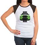 New Mustang Green Women's Cap Sleeve T-Shirt